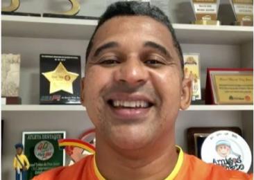 Bom dia Pessoal ! Uma mensagem especial do super craque e Gestor do Projeto Futsal SESC Ceará Manoel Tobias !